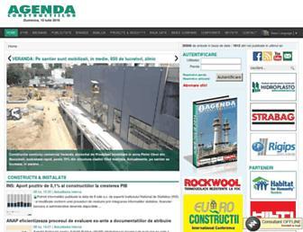 agendaconstructiilor.ro screenshot