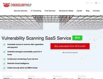cybersecurity-help.cz screenshot