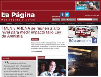 Thumbshot of Lapagina.com.sv