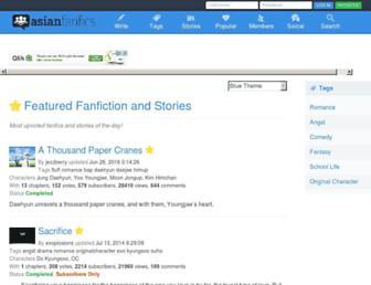 asianfanfics.com screenshot