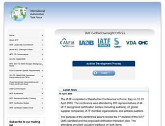 iatfglobaloversight.org screenshot