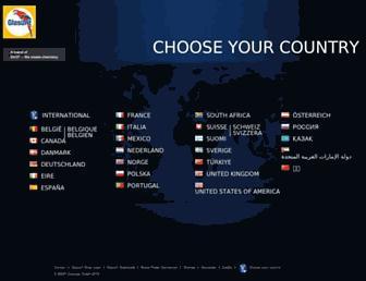 glasurit.com screenshot