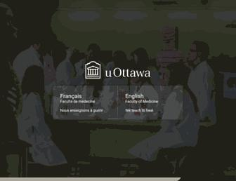 med.uottawa.ca screenshot