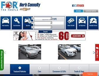 herbconnollychevrolet.com screenshot