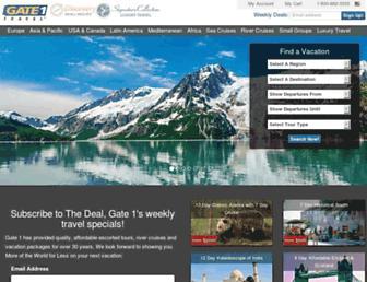 Thumbshot of Gate1travel.com