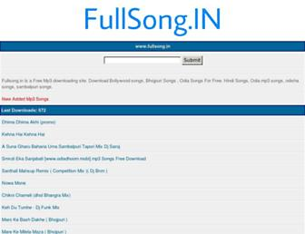 fullsong.in screenshot