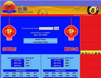 taiwan4d.tw screenshot