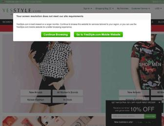 Thumbshot of Yesstyle.com