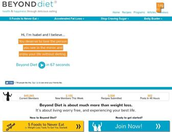Thumbshot of Beyonddiet.com