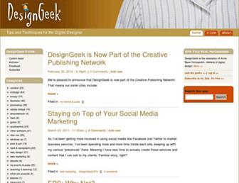 designgeek.com screenshot