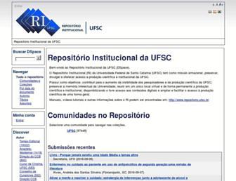 repositorio.ufsc.br screenshot