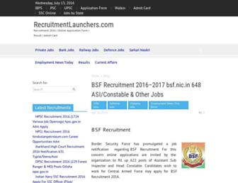 Thumbshot of Recruitmentlauncher.com