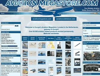 aviationmegastore.com screenshot