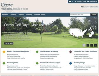 oasys-software.com screenshot