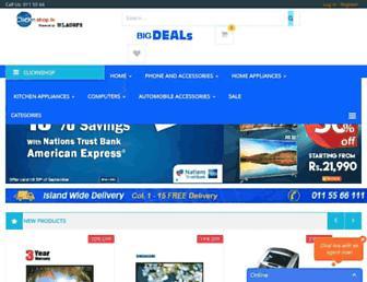 clicknshop.lk screenshot