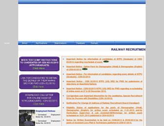 rrbcdg.gov.in screenshot