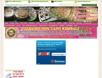 tokopastri.com screenshot