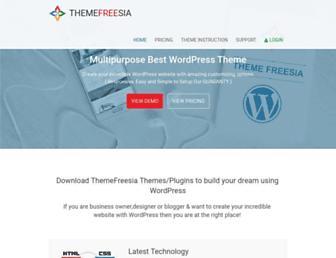 themefreesia.com screenshot