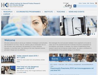 leibniz-hki.de screenshot