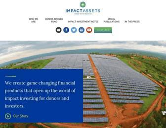 impactassets.org screenshot