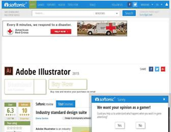 adobe-illustrator.en.softonic.com screenshot