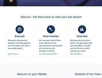 Thumbshot of Adzuna.co.uk