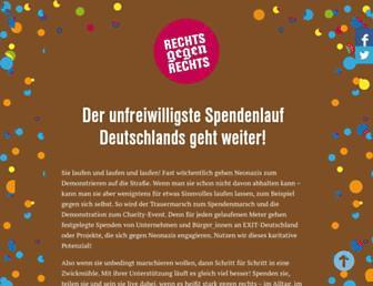 Thumbshot of Rechts-gegen-rechts.de