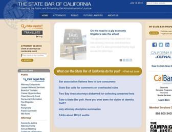 calbar.ca.gov screenshot