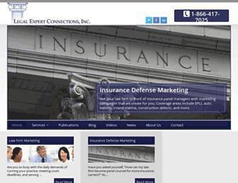 legalexpertconnections.com screenshot