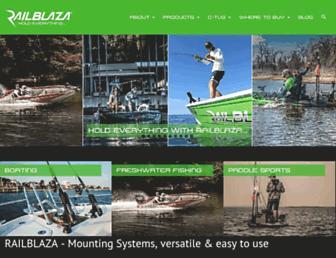railblaza.com screenshot