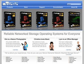 serverelements.com screenshot