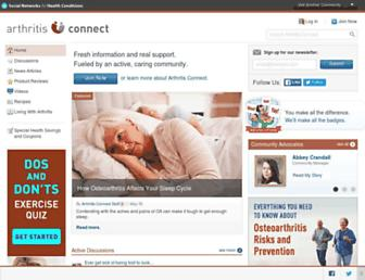 Thumbshot of Arthritisconnect.com