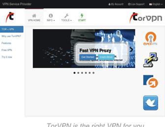torvpn.com screenshot