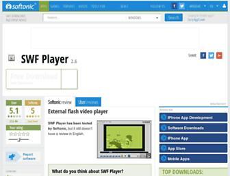swf-player.en.softonic.com screenshot