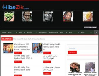 hibazik.com screenshot