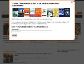Thumbshot of Wakingtimes.com