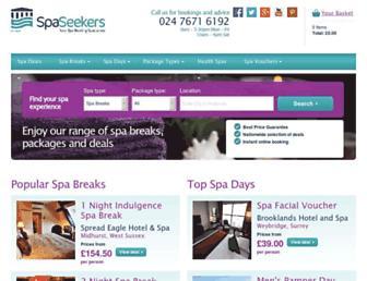 spaseekers.com screenshot