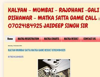 sattamatkagametips.blogspot.com screenshot