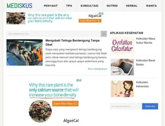 mediskus.com screenshot