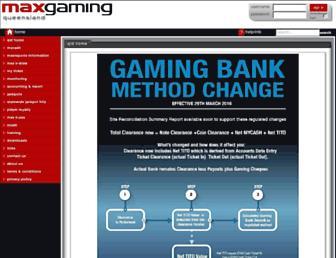 qld.maxgaming.com.au screenshot