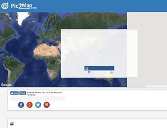 pic2map.com screenshot