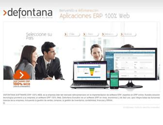 defontana.com screenshot