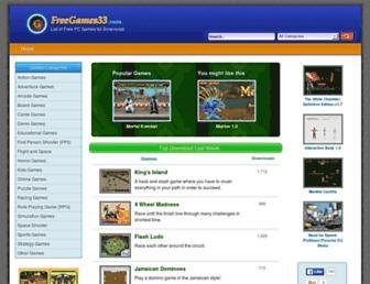 freegames33.com screenshot