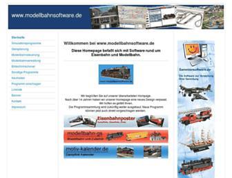 modellbahnsoftware.de screenshot