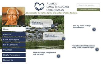 Main page screenshot of akoltco.org