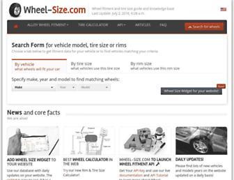 Thumbshot of Wheel-size.com