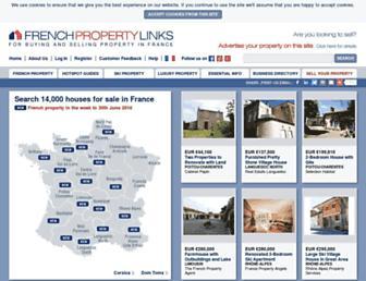 Thumbshot of Frenchpropertylinks.com