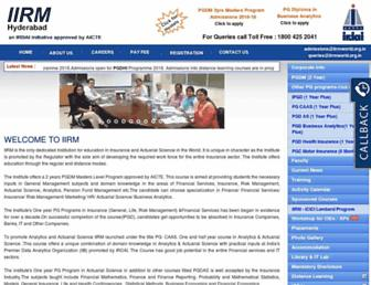 iirmworld.org.in screenshot