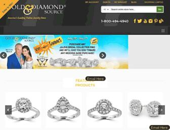 goldanddiamond.com screenshot