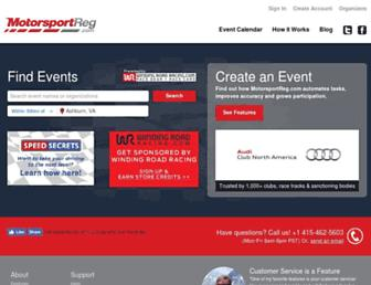 Thumbshot of Motorsportreg.com